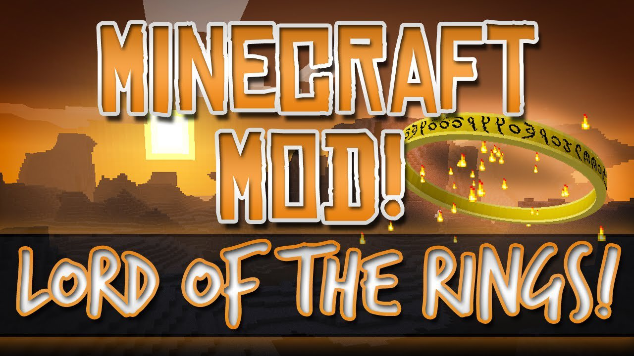 Mod Lord of the Rings на Minecraft PE 0.14.0
