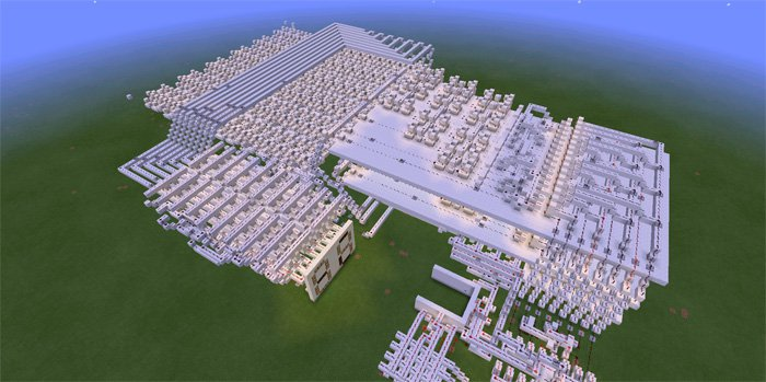 Карта Advanced Calculator на Minecraft PE 0.14.0