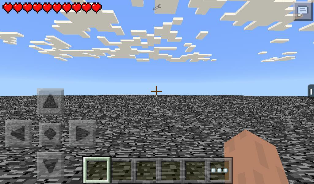 Addon Superflat World Layers на Minecraft PE 0.14.0
