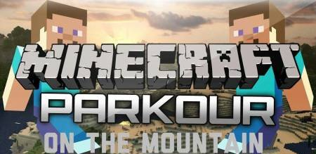 Карта «Parcour on the mountain» для Minecraft PE 0.15.0