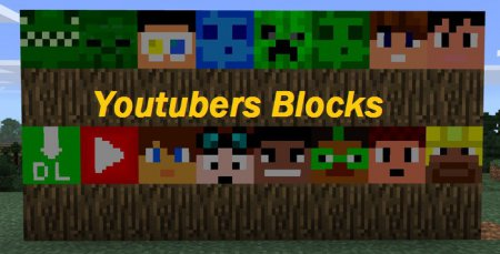 Текстурпак Youtubers Blocks 0.17.0