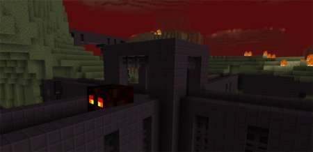The Nether and the End Switched Texture Pack