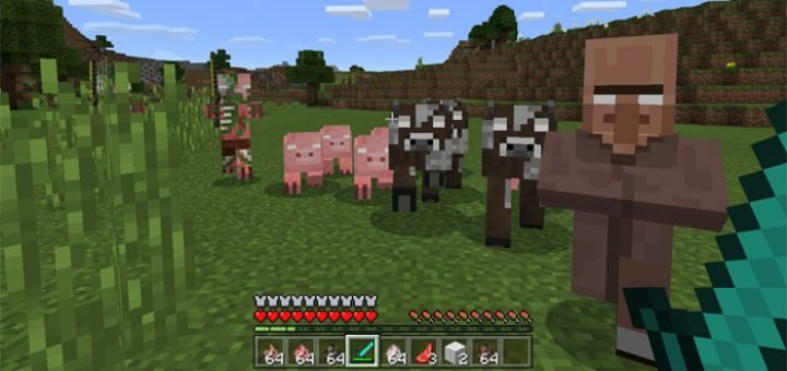 Аддон Herobrine's Everywhere Addon 1.0.0 (0.16.0, 0.17.0)
