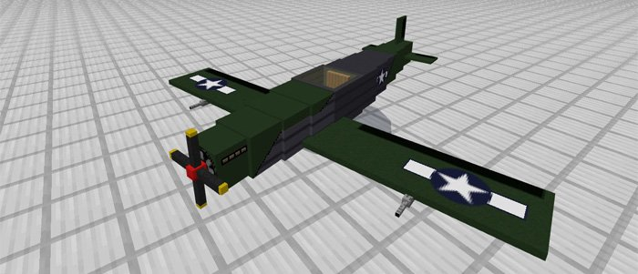 Аддон War Plane Add-on 1.0.0 (0.16.0, 0.17.0)