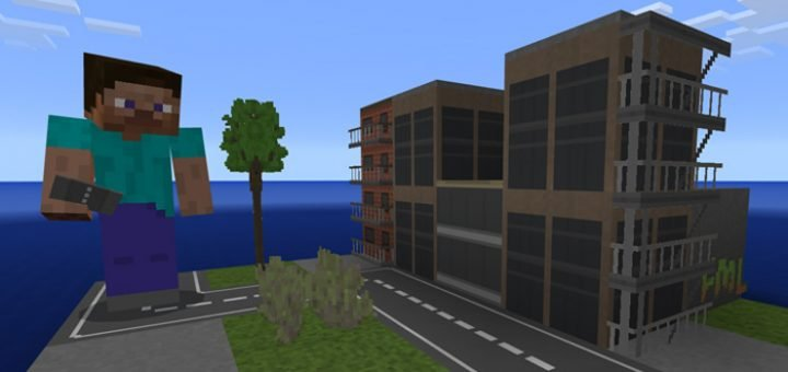 Текстуры Mini City Texture Pack (0.16.0, 0.17.0)